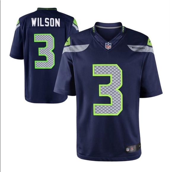 Seattle Seahawks Russell Wilson Jersey